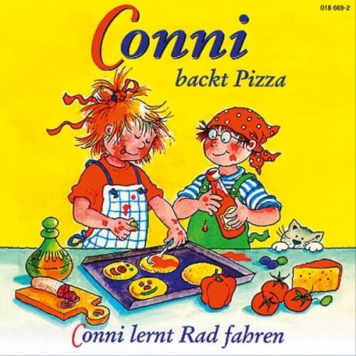 CD Conni 8: backt Pizza