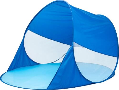 Outdoor active Pop-up Strandmuschel mit UV 30+