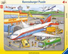Ravensburger 06700 Rahmenpuzzle Kleiner Flugplatz 40 Teile
