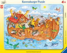 Ravensburger 06604 Rahmenpuzzle Die große Arche Noah 48 Teile