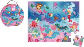 Puzzlekoffer Meerjungfrau (24 Teile)