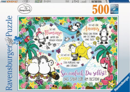Ravensburger 14830 Puzzle Sei einfach Du selbst! 500 Teile