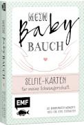 Mein Babybauch # Selfie-Karten für meine
