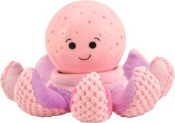cloud b Einschlafhilfe Octo softeez, pink, Nachtlicht